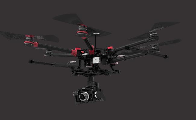 S900 muni d'un GH5
