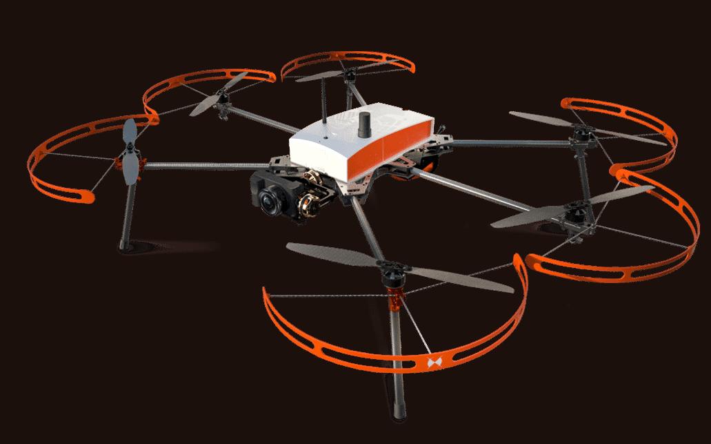 Drone de photogrammétrie