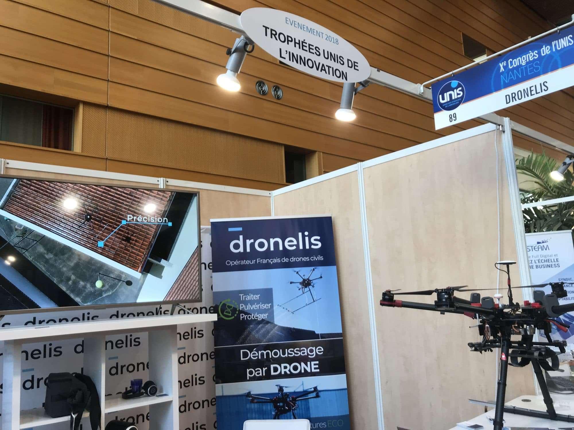 Dronelis présent au salon de l'Unis à Nantes