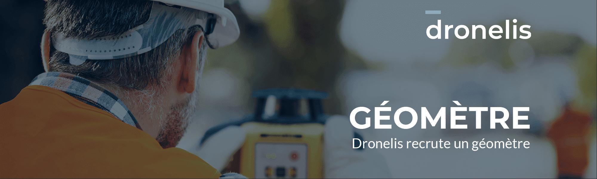 Dronelis recrute un Géomètre